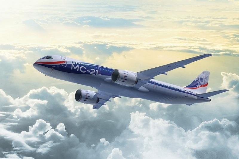 Федеральные субсидии направят на производство гражданского самолёта МС-21