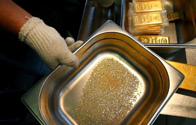 Золото в оборудовании
