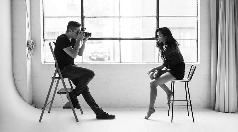 Модель и фотограф