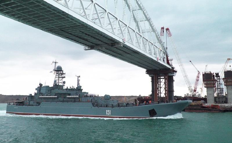 Керченский пролив корабли