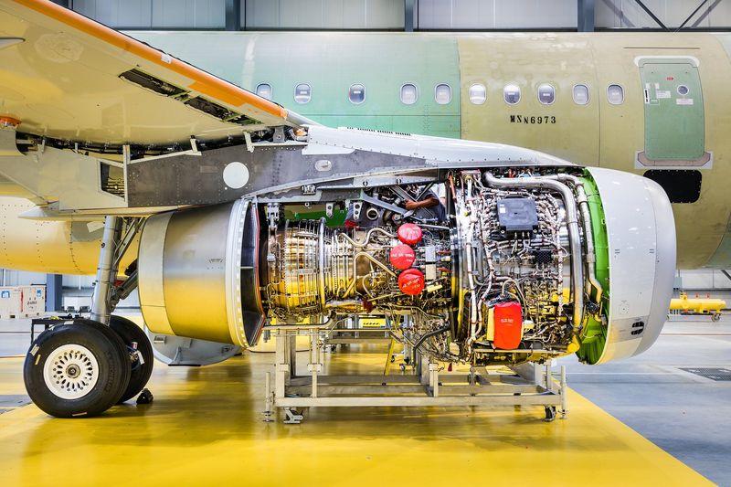 Самолеты двигатель