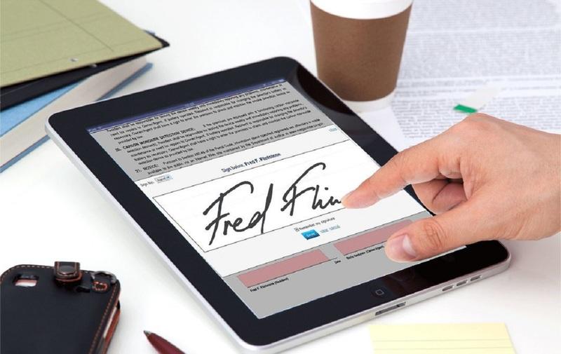 Цифровая подпись при передаче недвижимости должна быть заверенной