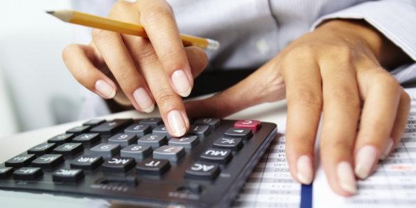 Подсчёт алиментов с ИП на калькуляторе