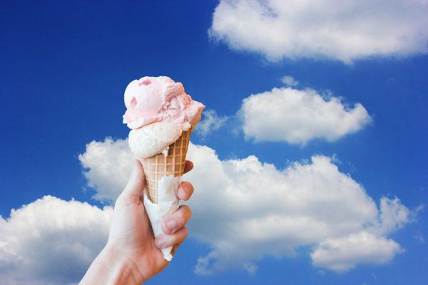 Рожок с мороженым