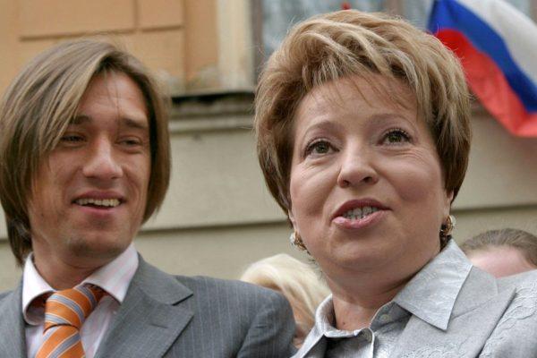 Валентина Матвиенко с сыном