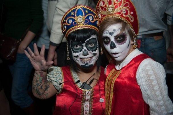 русские на Хеллоуин