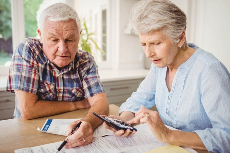 Основные траты - в день пенсии