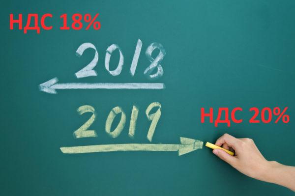Повышение НДС в 2019 году