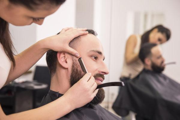Придание формы бороде